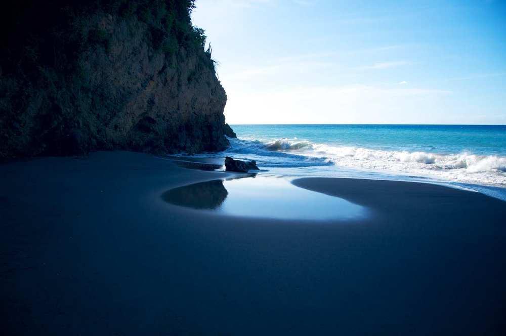 Black-Sand-Beach-Montserrat