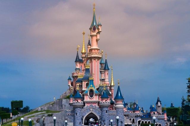 Castle at Disneyland Paris