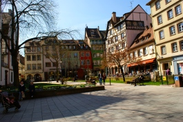 one of the many quaint squares.