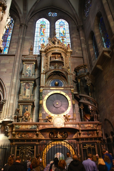inside, a giant astronomical clock was accurate enough to calculate the timing of Easter long before computers.