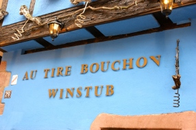 we didn't go in, but loved the name of this winstub.