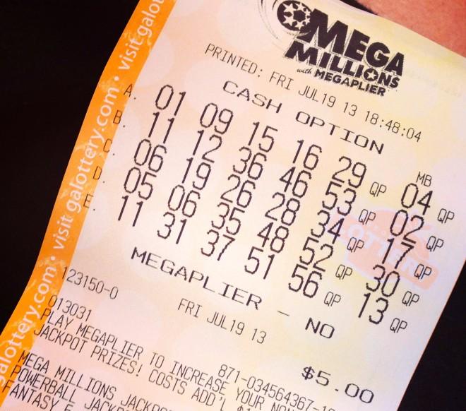 Megamillions Ticket