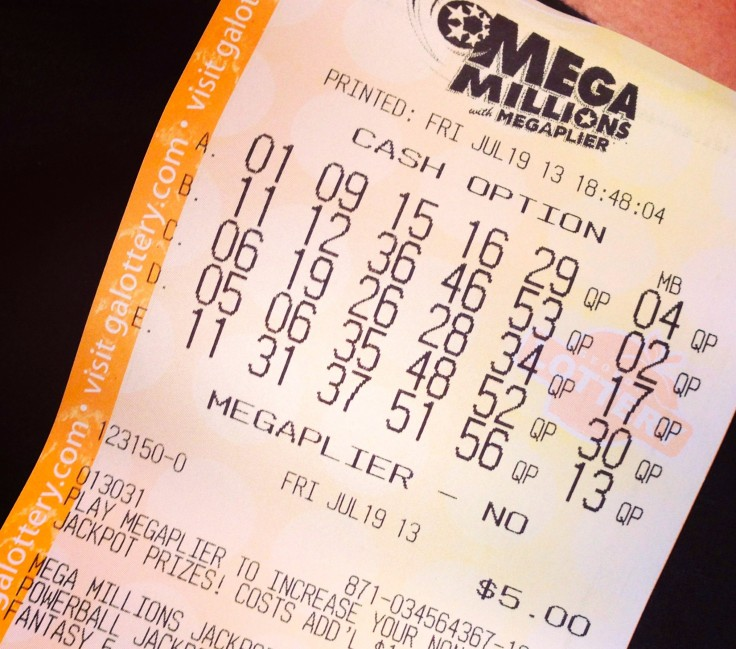 Megamillions Ticket
