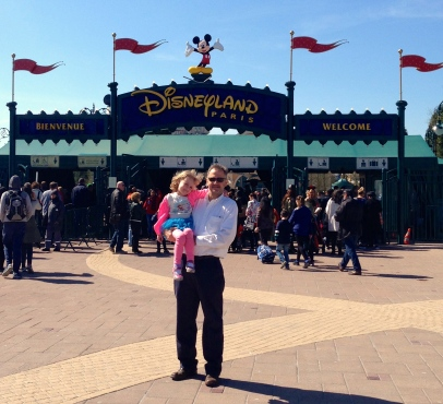 Spy always wanted to spend his 49th birthday at Disneyland. not.
