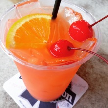 ridiculous rum drink at North Beach Bar & Grill — swear i only had 1!