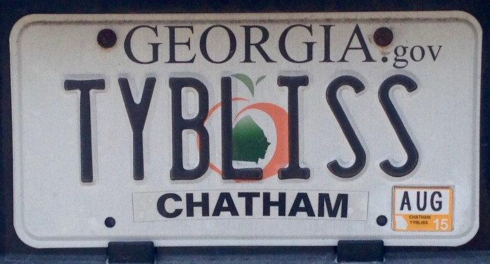 loved this license plate!