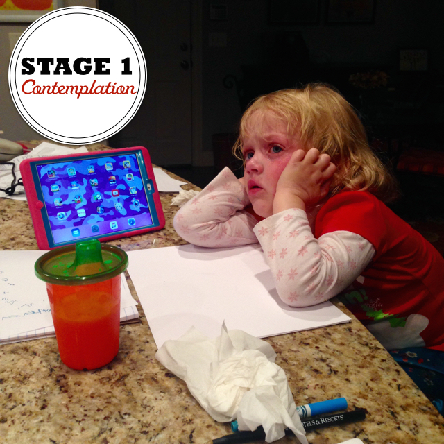 4 Stages of Homework: Stage 1