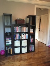 bookshelves that can't hold many books