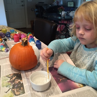 pumpkin paiting!