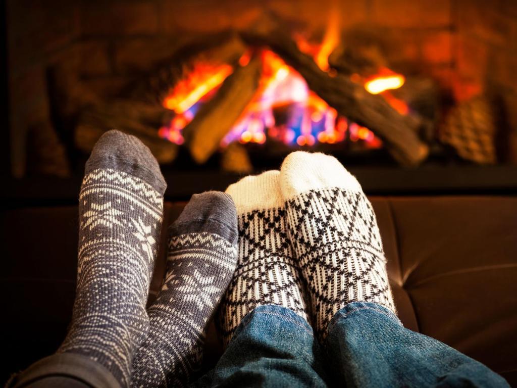 fireplace socks