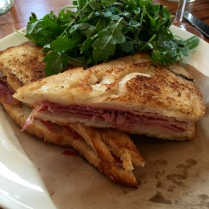 Croque Monsieur at Pippin Hill