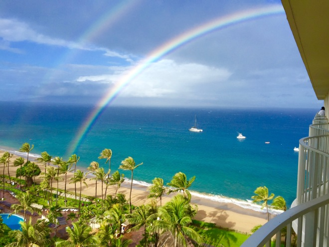 hawaii_maui_doublerainbow